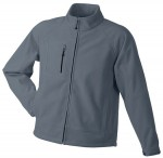 JN1006 MEN'S BONDED FLEECE JACKET