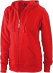 JN053 LADIES' HOODED JACKET