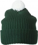MB7540 KNITTED CAP WITH POMPON