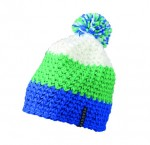 MB7940 CROCHETED CAP WITH POMPON