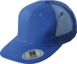 MB6509 6 PANEL FLAT PEAK CAP