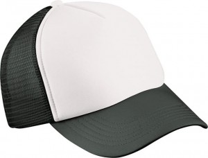 MB071 5 PANEL POLYESTER MESH CAP FOR KIDS