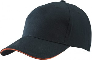 MB6526 5 PANEL SANDWICH CAP